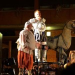 Don Quijote y Chejov abrieron el Festival Nacional de Teatro y Títeres Patio de Comedias de Torralba de Calatrava