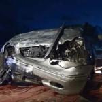 Una mujer resulta herida grave tras el choque entre un turismo y una furgoneta en la carretera de Brazatortas
