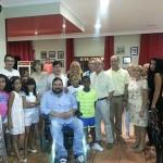 El Ayuntamiento de Argamasilla de Calatrava despide a los niños saharauis acogidos durante el verano en la localidad