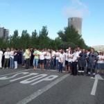 Los trabajadores de Elcogas van a la huelga indefinida y piden una reunión tripartita para aclarar la viabilidad de la central