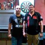 Agustín Romero y Carlos Recuero se unen para fomentar los dardos electrónicos en Puertollano y en la provincia de Ciudad Real