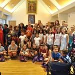 Despedida institucional a los niños ucranianos y saharauis que han pasado el verano en Ciudad Real