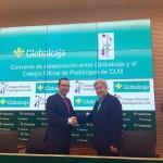 Globalcaja y el Colegio de Podólogos firman un convenio de colaboración