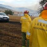 Incendio en Piedrabuena