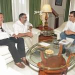 El alcalde de Infantes plantea a Caballero varios proyectos para mejorar la actividad turística