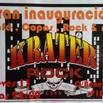 Krater Rock City Puertollano inicia su vertiginoso viaje al corazón del rock