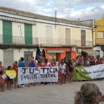 Manifestación en Carrión de Calatrava: Piden justicia tras la muerte de Trébol y que se ponga fin al maltrato animal
