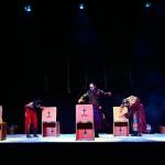 El público responde a la recreación teresiana de Goyanes y Diosdado en el 5º Festival de Teatro y Títeres de Torralba
