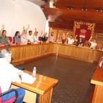 El Pleno reclama a la dirección de Elcogas que reconsidere el cierre mediante una declaración institucional de la que el PP se desmarca