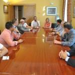 La alcaldesa de Tomelloso se reúne con el sector alcoholero, bodeguero y cooperativo de la ciudad
