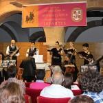 Scuola del Sospir enamora con sus voces en el Festival Internacional de Música Clásica de Villanueva de los Infantes