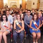 La Corporación Municipal asiste a la misa del novenario al Cristo de la Vega, dedicada este día al Ayuntamiento