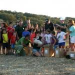 El Centro de Recuperación El Chaparrillo suelta 10 cigüeñas en Peralvillo
