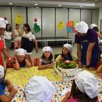 Los pequeños de Ciudad Real aprenden a cocinar productos manchegos