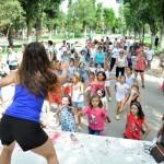 La programación infantil de la Feria se despide a ritmo de zumba