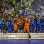 Movistar Inter se proclama Campeón de la XXVI Supercopa de España ante Jaén P. Interior tras vencer 6-2