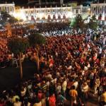 Auryn congrega a más de 6.000 fans en el comienzo de las 'LXII Fiestas del Vino' de Valdepeñas