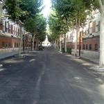 Asfaltada parte de la Avenida del Rey Santo