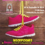 Desencuentro a cuenta de sendas carreras solidarias de la mujer organizadas por Quixote Maratón y AMUMA que se celebrarán con una semana de diferencia