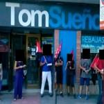 CNT despliega piquetes informativos en defensa de una trabajadora despedida «por quedarse embarazada»