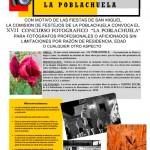 La Poblachuela: El plazo de entrega de obras para el concurso fotográfico de las Fiestas de San Miguel finaliza el 18 de septiembre