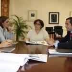 Olmedo y Lucas-Torres coinciden en la urgencia de rehabilitar el colegio Domingo Miras de Campo de Criptana