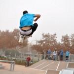 Hartos de que impidan a sus hijos utilizar el <i>skate park</i> para entrenar