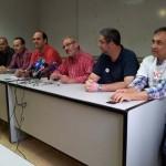 El comité de empresa de Elcogas se encierra en la Delegación del Gobierno a la espera de una respuesta de Industria