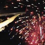 Pirotécnico fin de fiestas en La Poblachuela