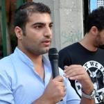 """Siwar Ala, refugiado sirio: """"La solidaridad de la gente demuestra que todavía somos humanos"""""""