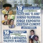 Vicente Ruiz «El Soro» encabeza la feria taurina de Brazatortas