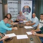 La Asociación de Taxistas de Ciudad Real analiza con Fomento la situación de sector
