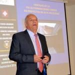 El profesor Enrique Castillo presenta en la UCLM un nuevo modelo de análisis de riesgo ferroviario que reduce la siniestralidad