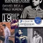 Puertollano: Concierto de David Bea y Pablo Moreno en solidaridad con Uganda