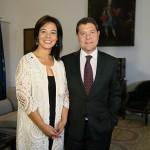 Pilar Zamora pide a García-Page colaboración para la autovía, la pasarela, el Pabellón ferial y el colegio de Valverde