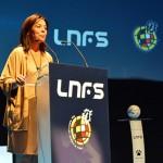 """Zamora en la Gala de Presentación de la LNFS: """"Mañana hay duelo de titanes en el Quijote Arena"""""""