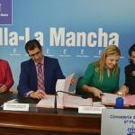 Junta, Diputación y Ayuntamiento de Ciudad Real aúnan esfuerzos en torno a la Oficina de Intermediación Hipotecaria