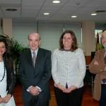 La consejera de Economía, Empresas y Empleo conoce los diferentes proyectos de la Fundación Horizonte XXII, de Globalcaja, para Castilla-La Mancha