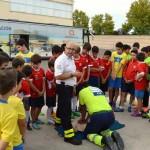 Ciudad Real: Los alumnos de la Escuela Municipal de Fútbol Base se forman en primeros auxilios