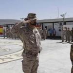 El teniente coronel médico de la basede Almagroconcluye en elmando de la mayor unidad de la sanidad militar española desplegada en operaciones