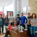 El Colectivo Estudiantil presenta sus iniciativas a los nuevos alumnos del campus de Ciudad Real