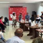 """Isabel Rodríguez y Gema García Ríos invitan a los vecinos de Calzada de Calatrava a apostar por """"un gobierno socialista de esperanza y de futuro"""""""