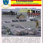 Calzada acogerá este jueves una exhibición de vehículos y material militar