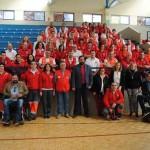 Unos 70 voluntarios participan en el encuentro provincial de equipos de respuesta inmediata de Cruz Roja