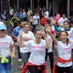 Daimiel: 'Besos al cielo' correspondidos por centenares de deportistas solidarios
