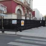 La Junta destina 15.000 euros para asegurar elementos ornamentales de la fachada de la Ferroviaria