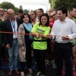 Gemma Arenas logra su cuarto triunfo y llega cuarta en la general del Quixote Maratón, cuyo vencedor absoluto fue Mauricio Lobato