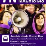 Feminismos Ciudad Real fletará un autobús para participar en la Marcha contra las Violencias Machistas