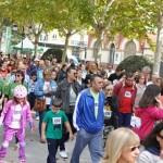 Más de 300 dorsales en la marcha en memoria de Ángel Notario y por la Asociación Española Contra el Cáncer