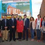 Bolaños: La ministra de Agricultura inaugura la nueva ruta peatonal hasta el santuario de la Virgen del Monte